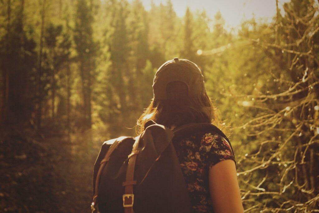 Itsestä huolehtiminen vaatii liikuntaa - metsässä liikkuminen on hieno tapa huolehtia itsestä, metsä tehostaa palautumista